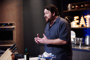 Finalist Jay Ducote performs the Mentor Challenge.