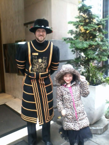 Juno and the Beefeater